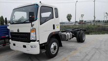 SINOTRUK New Design HOWO 4x2 8 ton Rigid Light Truck Chassis