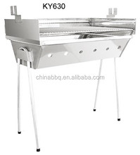 Stainless Steel Barbecue charcoal bbq grill ceramic table garden