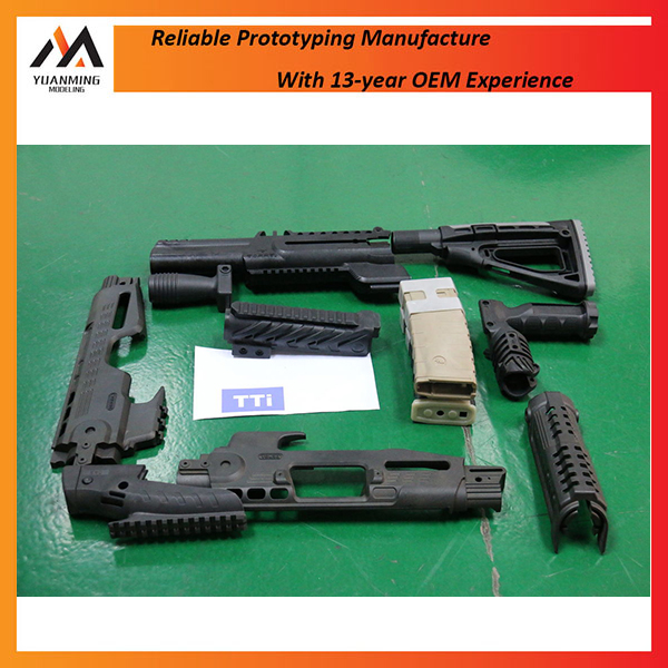 Multi Single cavity Plastic Injection Molding Parts High precision Gun Covers from China manufacturing