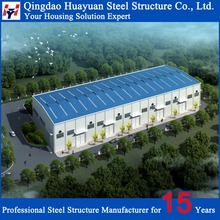 Prefabricated Steel Structure Jeans Warehouse