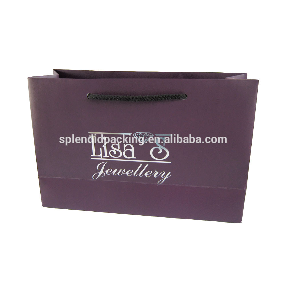 Allibaba Com Clothes Logo Package For PP Rope Online Shopping India Design Fashion Bag Paper