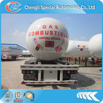 CLW 3axle lpg tanker trailers