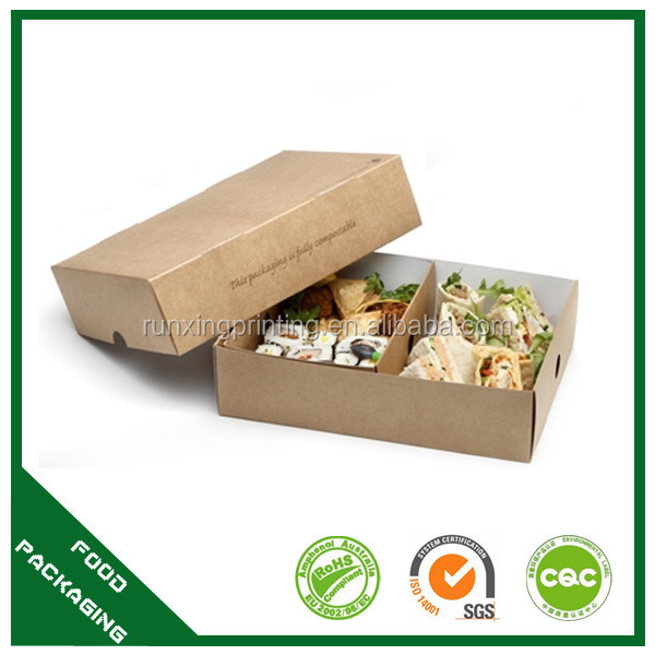Vegetable fruit mix salad container,salad paper box,salad packaging