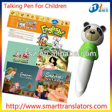 new products Fairy Tales Baby learning talking pen with Russian