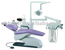 dental chair unit with LED sensor lamp light cure and scaler
