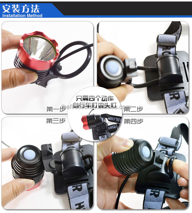 JEXREE Factory high quality led motorcyle light bicycle light