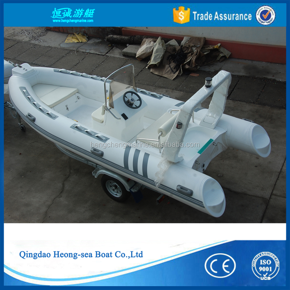 high quality rigid Inflatable fishing boat rib480 for sale