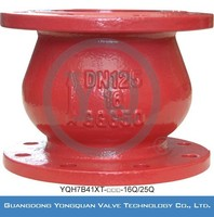 Energy Saving Vertical Check Valve for Water, DN 40-150mm, PN 1.6/2.5 MPa