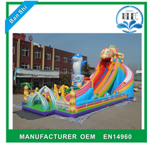 Big inflatable water slide for kids
