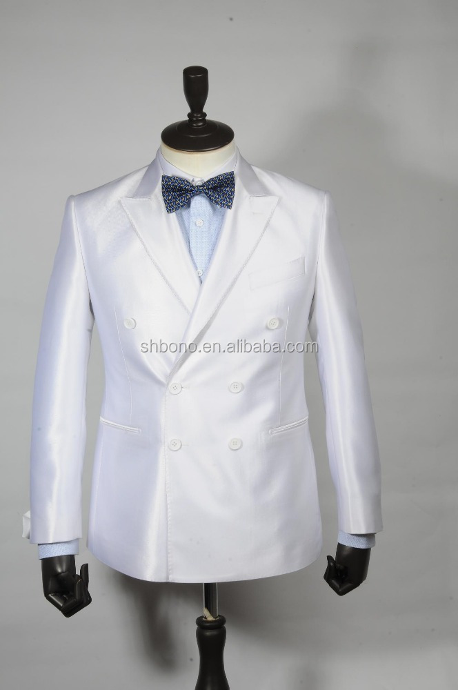 2017 Top quality white wedding suit w/tailor for men's suit With CMT price