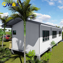 (WAS3506-102D)China Steel Frame Prefab Concrete Houses Modular Homes/Villas