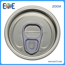 Production Line Best Selling 200 metal container lid 50mm Tinplate Easy Open End