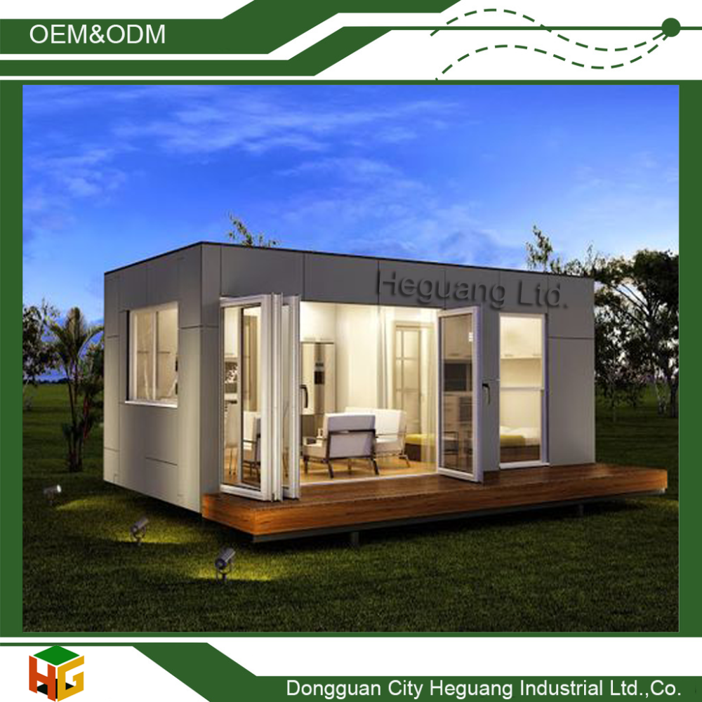Eco-friendly Cost Saving Easy Life Container House with Platform Supplied by Direct Manufacturer
