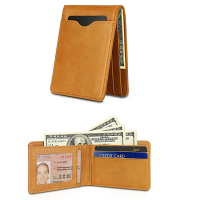 Magnetic Money Clip Front Pocket Wallet