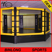 Ground floor Octagon fight MMA UFC cage boxing ring MMA cage MMA fight