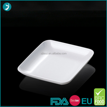 Most popular disposable rectangular plastic fruit tray plates with low price