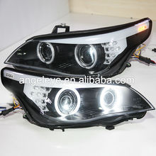 E60 523i 525i 530i Head Light CCFL Angel Eyes For BMW original car with HID kit D1S Xenon Light 2007-2010 Year SN