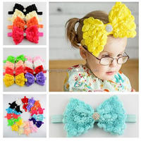 Retail 20pcs A lot Toddler Girls Headband Infant Bow Headwear Baby Newborn Hairband Kids Jewelry Hair Accessories!!