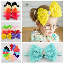 Retail 20pcs A lot Toddler Girls Headband Infant Bow Headwear Baby Newborn Hairband Kids Jewelry <strong>Hair</strong> <strong>Accessories</strong>!!