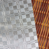 PVC leatherette material for decoration and upholstery, wallpaper usage
