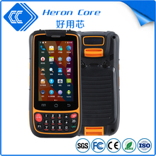 RFID smart card reader wireless barcode scanner handheld PDA RFID reader with GPRS gsm 4G