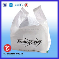 Online Buy Wholesale plastic t-shirt Handle bags/packaging shopping bag