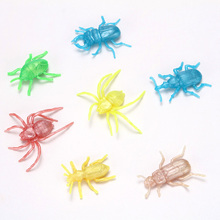 Hot wholesale Soft Plastic New Kind Pearl light Insect Anima as giftl, 2018 Plastic forest animals toys