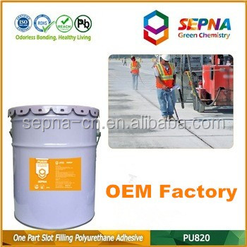 OEM high-performance color sandstone Polyurethane Self-Leveling color stability and UV resistance Concrete Sealant