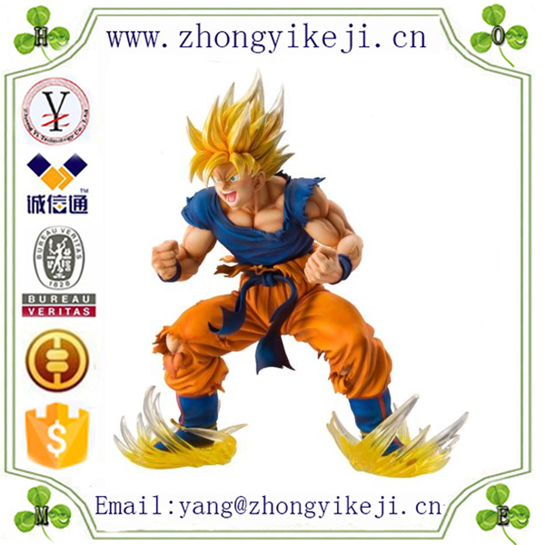 factory custom-made handmade carved fashion polyresin dragonball z