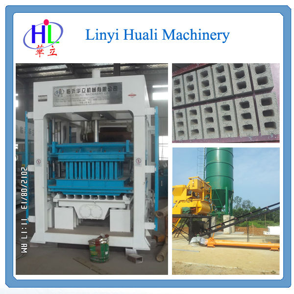 QT6-15 brick&block making machine/cement block making machine