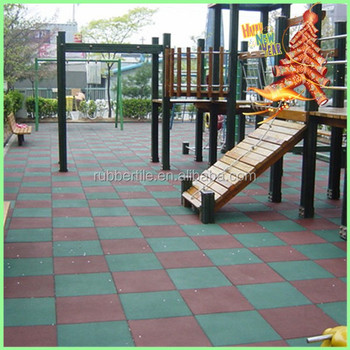 Golden supplier interlock playground rubber flooring tile/outdoor and indoor rubber tiles