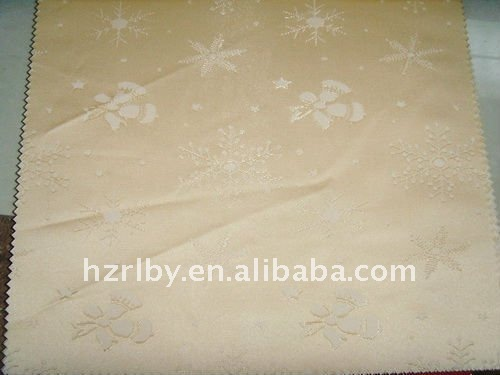 32% cotton 68% polyester woven jacquard mattress fabric