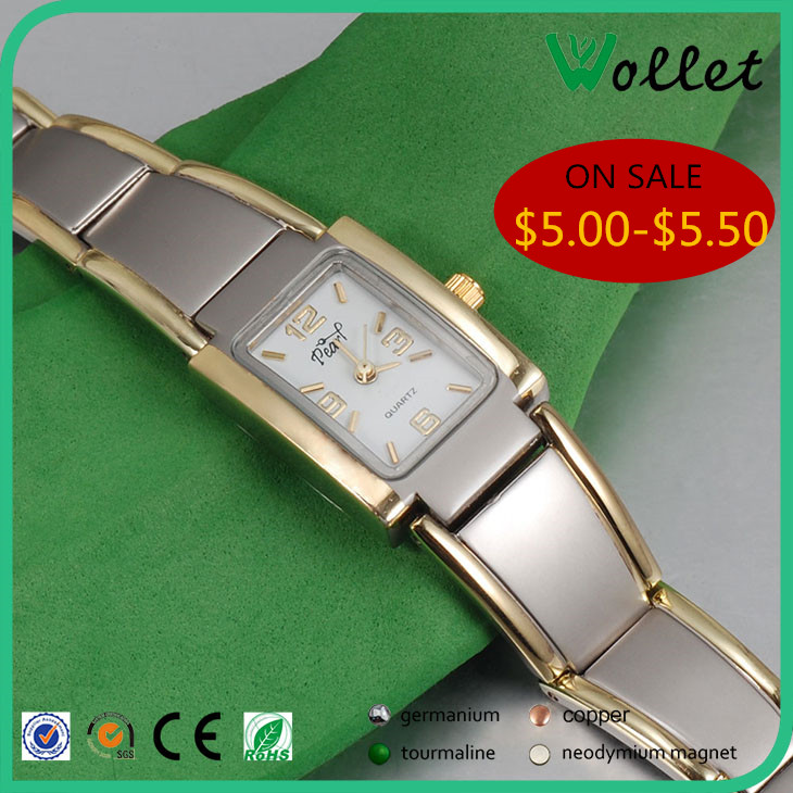 Luxury Movement Diamond Magnetic watch, Genuine Leather Watch Strap