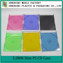 Hot Sales Portable Custom Size 5.2mm CD Jewel Storage Box