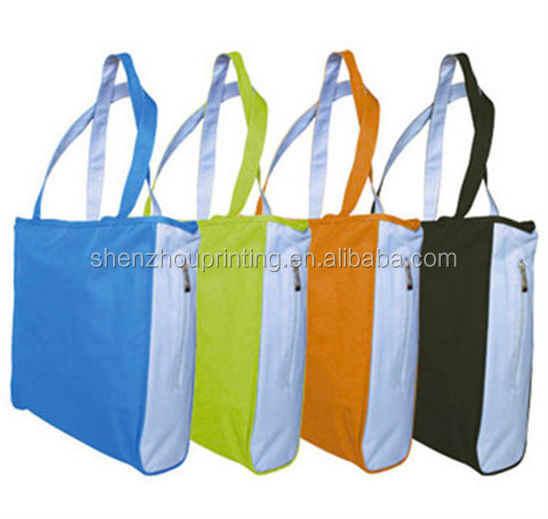 2015 China supplier hot sale top quality nylon bag/foldable nylon bag/nylon t-shirt bag