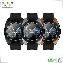Shenzhen New Design Touch Screen GSM Wrist Smart Watch Cell Phone Watch Android