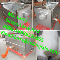 automatic carrot peeler/tapioca peeling machine/cassava washer and peeler