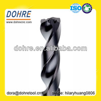 With Coolant Hole Twist Drills 2 Flutes Solid Carbide Drill Bit For Stainless Steel