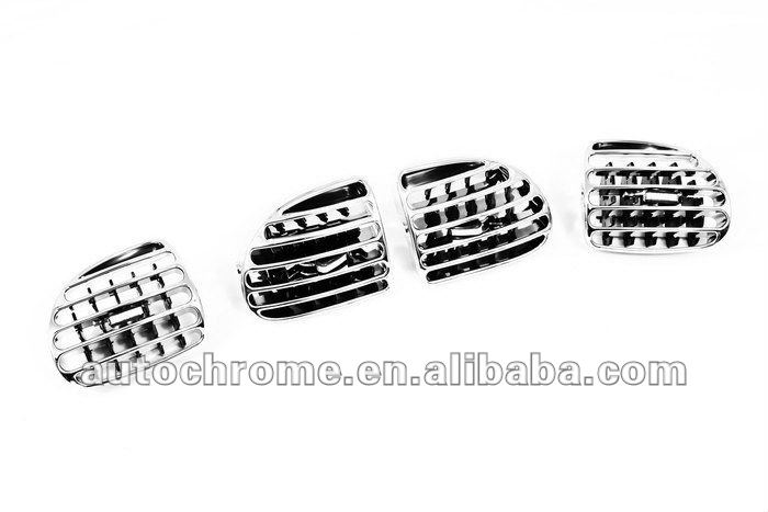 Chrome Dash Air Vent Replacement for Peugeot 206 / 206CC