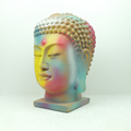 Exclusive buddha head statue with special painting