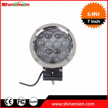 7inch off road 60w cr ee led work light 60w led driving lights spot flood fog lamp 4x4 offroad utv 4wd atv suv