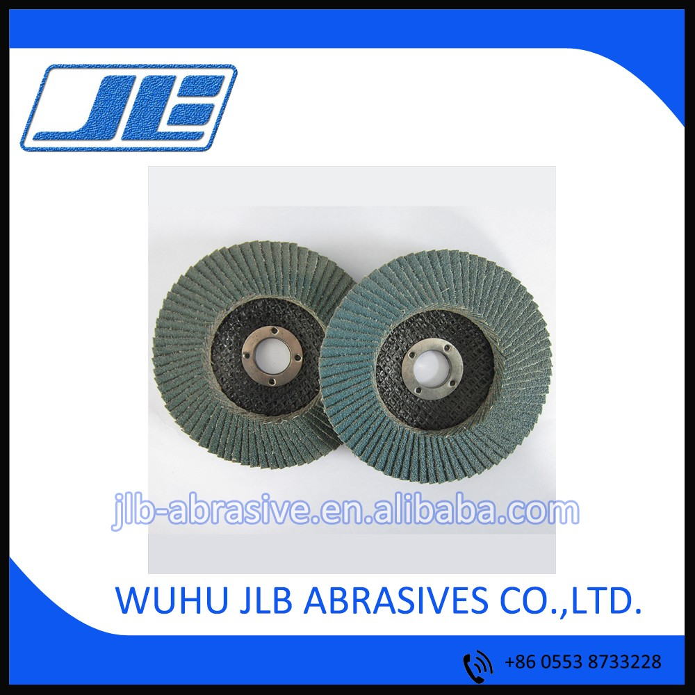 "4"" Zirconia Flap Disc for Grinding Usage"
