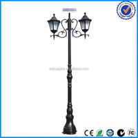 solar outdoor light ip65 12v standing solar lamp for garden