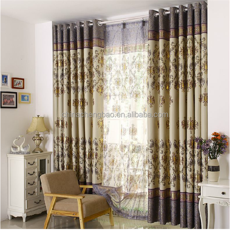 custom made curtains drapes double layer Phnom Penh Printing curtain
