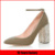 Fashion style diamond heel design with strap women sandal shoes