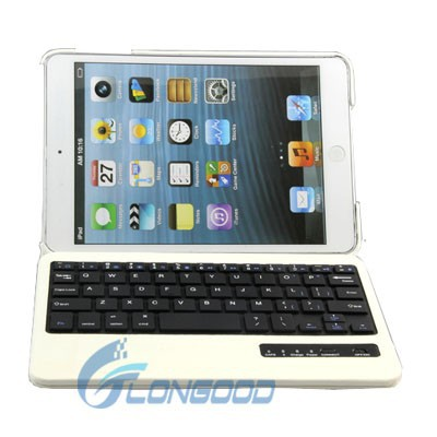 360 Degrees Rotating Case Cover Bluetooth Keyboard for iPad Mini Retina