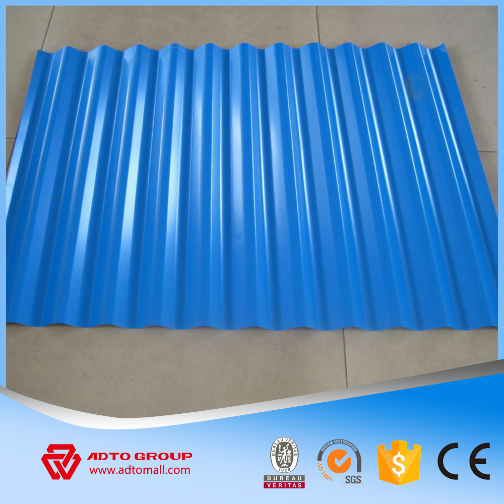 High quality PPGI/Corrugated Zink Roofing Sheet/Galvanized Steel Price Per Kg Iron