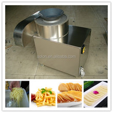 Multi-functional industrial potato chips cutting machine