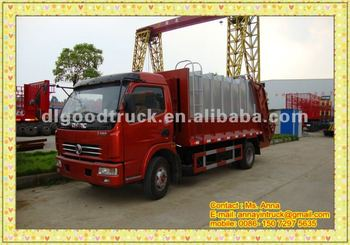 Dongfeng 4*2 Compression Garbage Truck