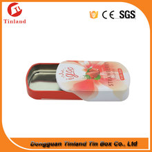 Candy Sliding Tin Box Mints Metal Tin Can